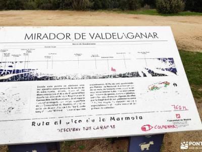 Puente de la Marmota - Parque Regional de la Cuenca Alta del Manzanares senderismo en albarracin inf